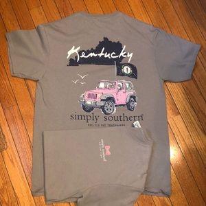 Simply southern, Kentucky tshirts (2 shirts)